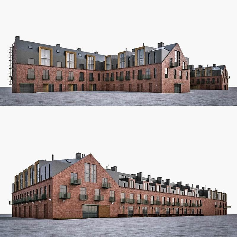 Best Free 3d Home Design Software 2015: 3d Loft House Industrial Building
