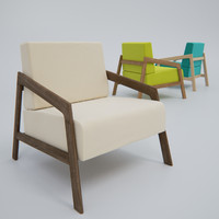 3d model coin chair
