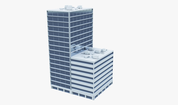 3d building office