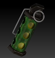 3d model flash bang flashbang