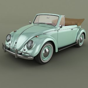 3ds max beetle cabrio