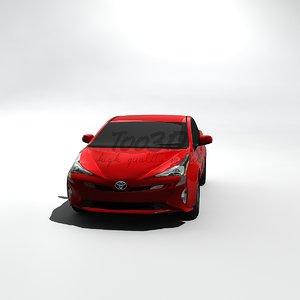 prius 2016 3d model