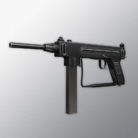 3d model madsen m-50 50