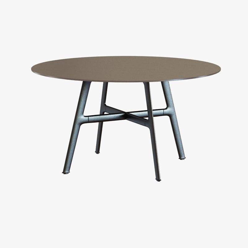 3d table dining dedon model