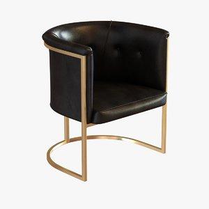 chair calvin 3d model