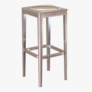 emeco stool 3d model