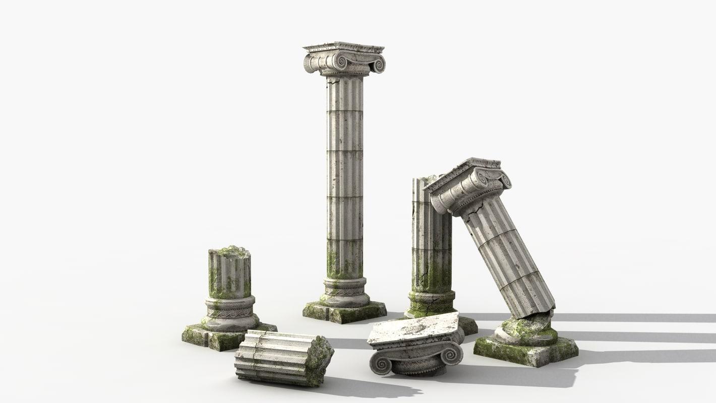ancient columns max