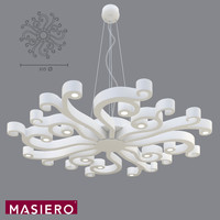 Pendant Light Masiero Virgo S 100