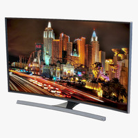 Samsung 4K UHD JU7500 Series Curved Smart TV 50 inch