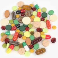 3d pills capsules model
