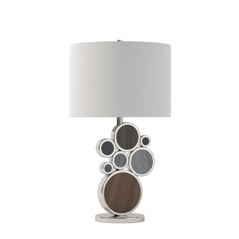 3d model nova cloud table lamp