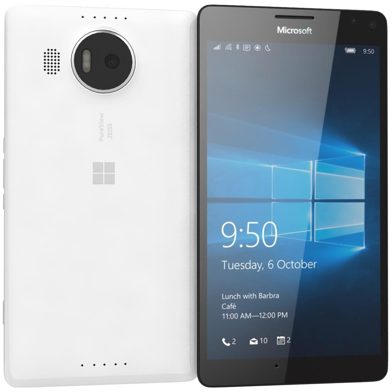 3ds max microsoft lumia 950 xl