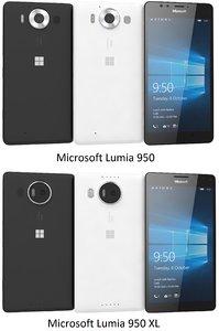 c4d microsoft lumia 950 xl
