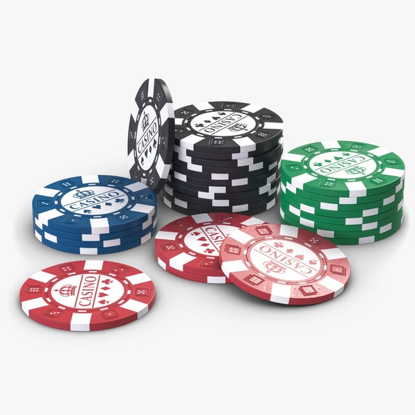 casino chips 3d 3ds