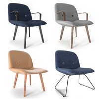 EJ 3 Eyes lounge chair by Foersom & Hiort-Lorenzen