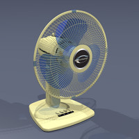 3d oscillating fan model