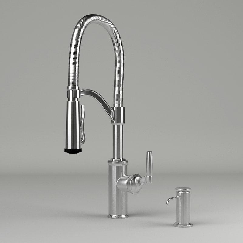 3ds max faucet kitchen