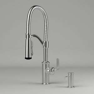 3ds max faucet kitchen