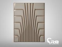 wallback wall 3d model