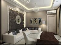 interior - cabinet 3d model