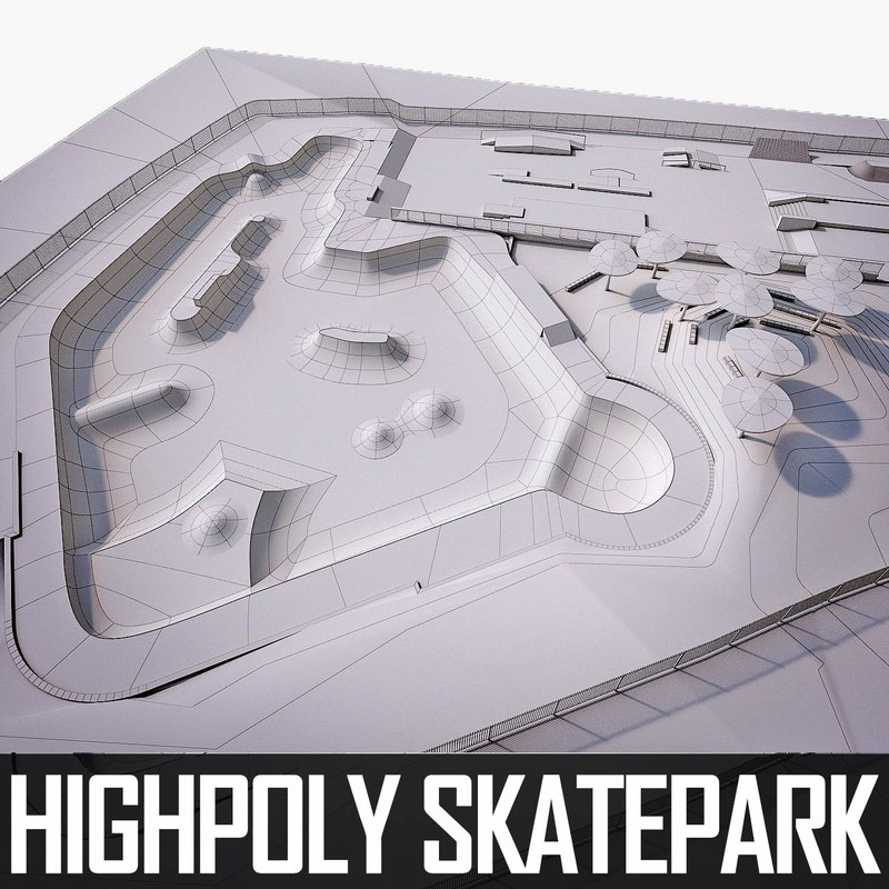 3ds skate park