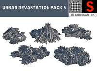 Urban devastation PACK 5