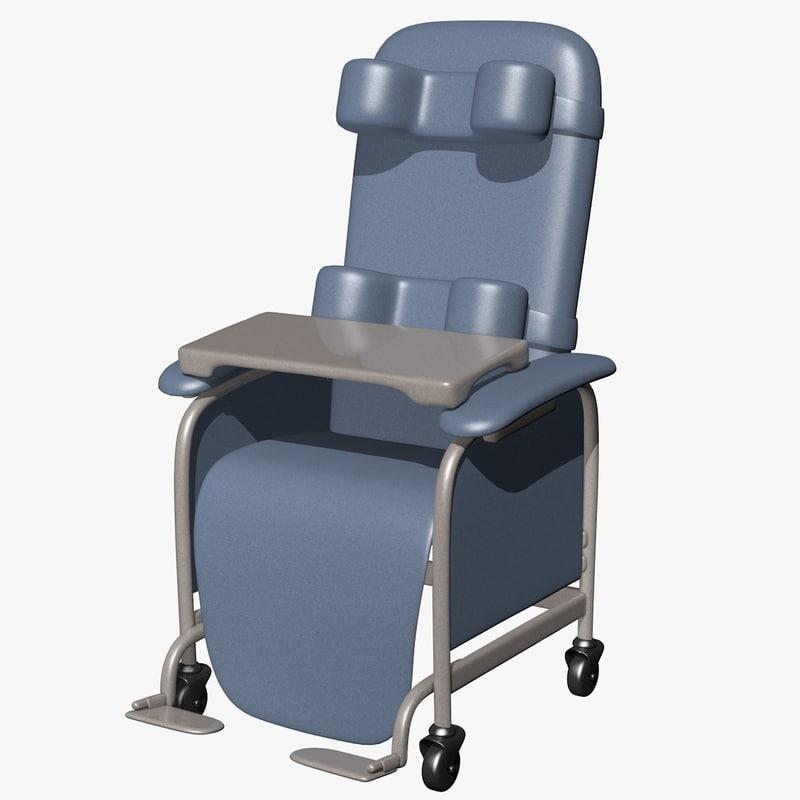 3d dxf geri chair