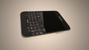 free blackberry bold 9900 3d model