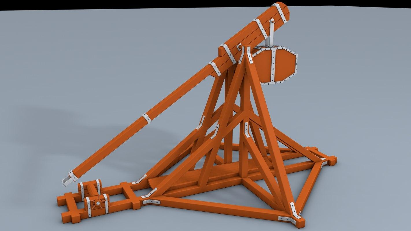 catapult low 3d c4d