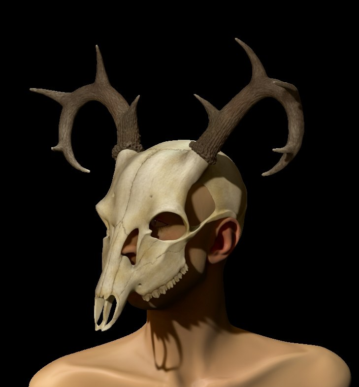 halloween mask 3d model