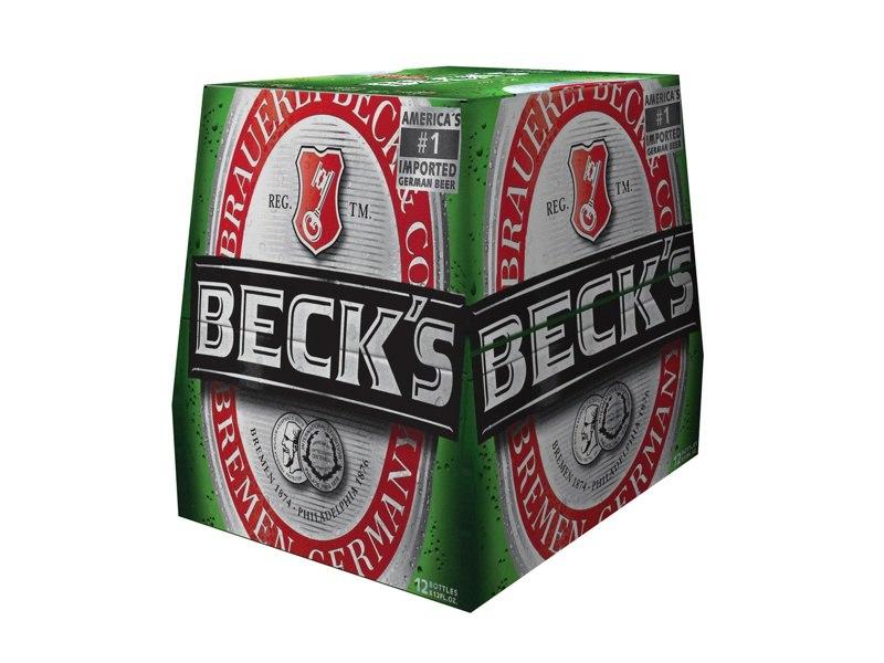 12 pack beck s 3d model