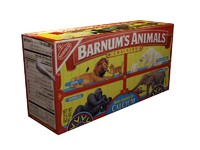 animal crackers 3d model