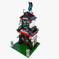 LEGO 6083 Samurai Tower