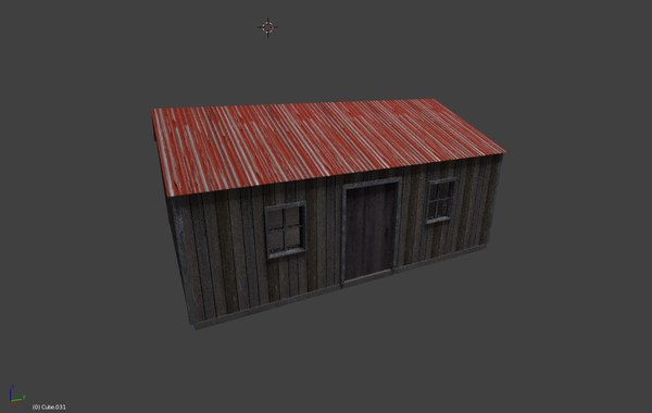 free 3ds mode shed hq rustic