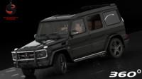 3d obj mercedes-benz g65 amg 2012