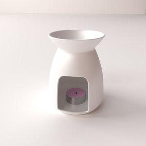 fragrance oil burner 3ds