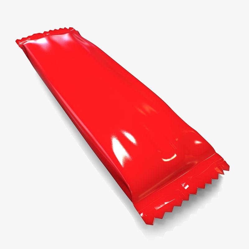 3d packaging snack