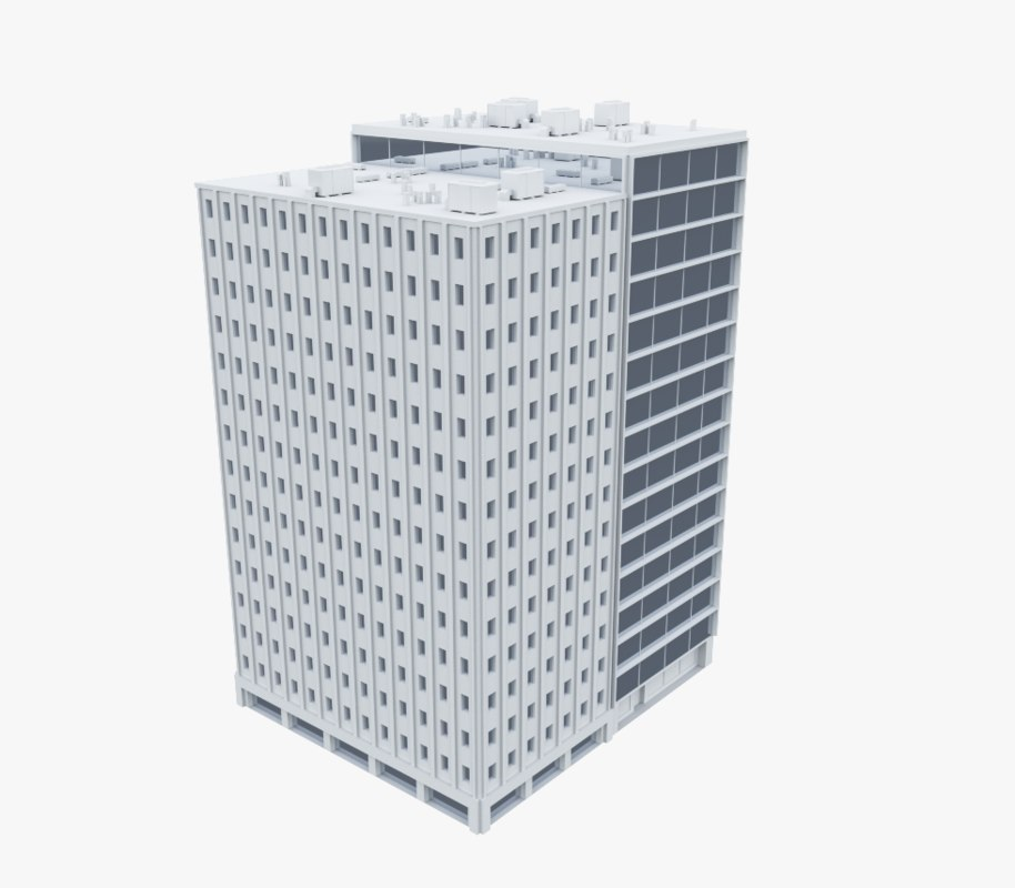 3ds building office