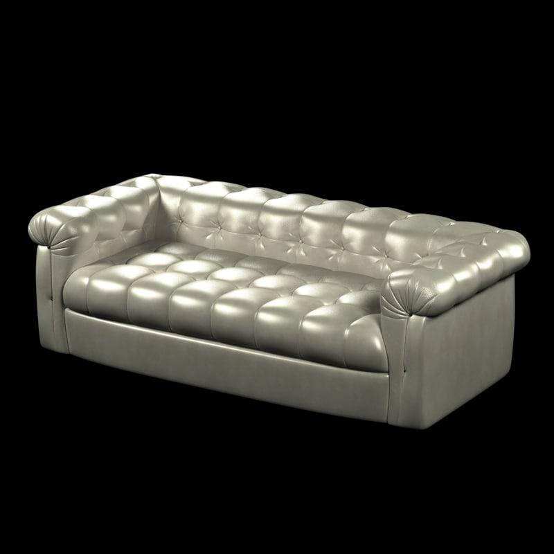 sofa foot tufted leather max