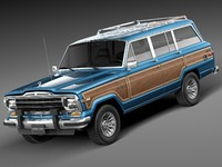 Jeep Wagoneer Woody 1980