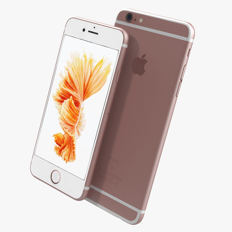 iphone 6s models 3d model iphone 6s gold 11486