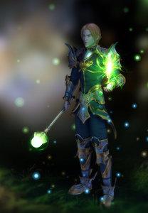3d royal wizard model
