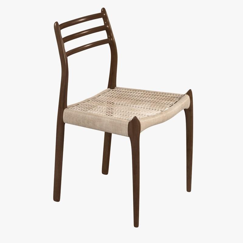 chair mller 78 dwr 3d max