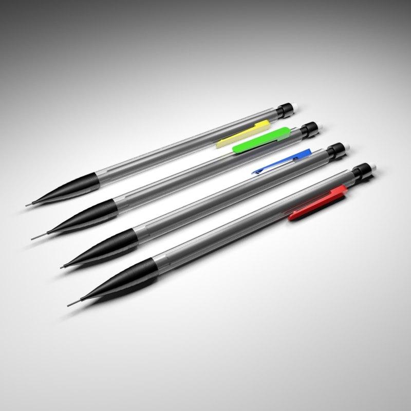 3d max 0 7mm pencil
