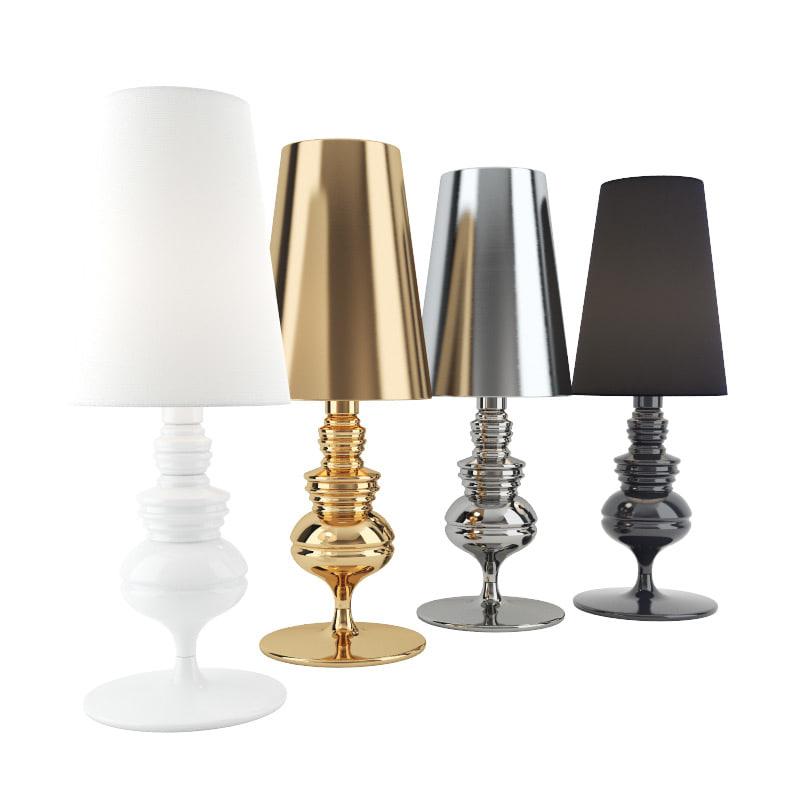 3d josephine mini m table lamp for Josephine m table lamp