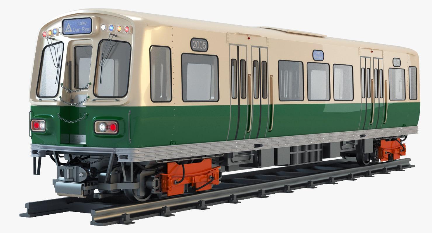 3d pullman standard 2000 chicago