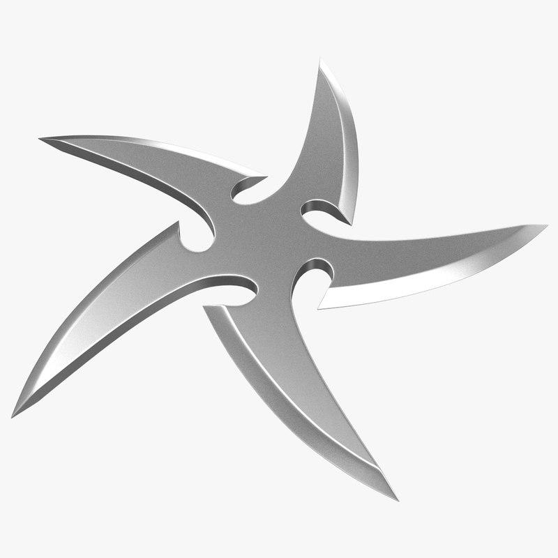 3dsmax shuriken