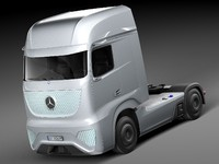 Mercedes-Benz Future Truck FT 2025 concept truck