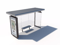 Bus stop abribus B