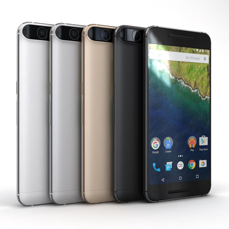huawei nexus 6p color 3ds
